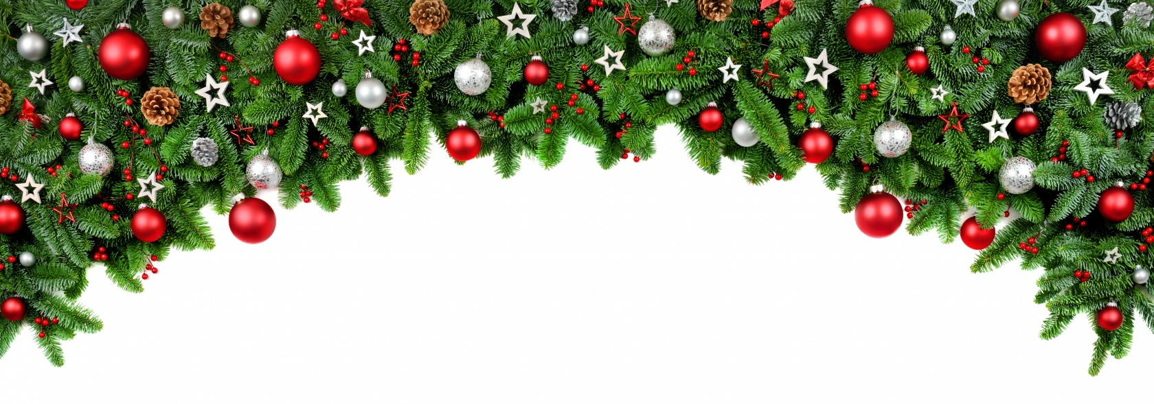 Christmas page top banner