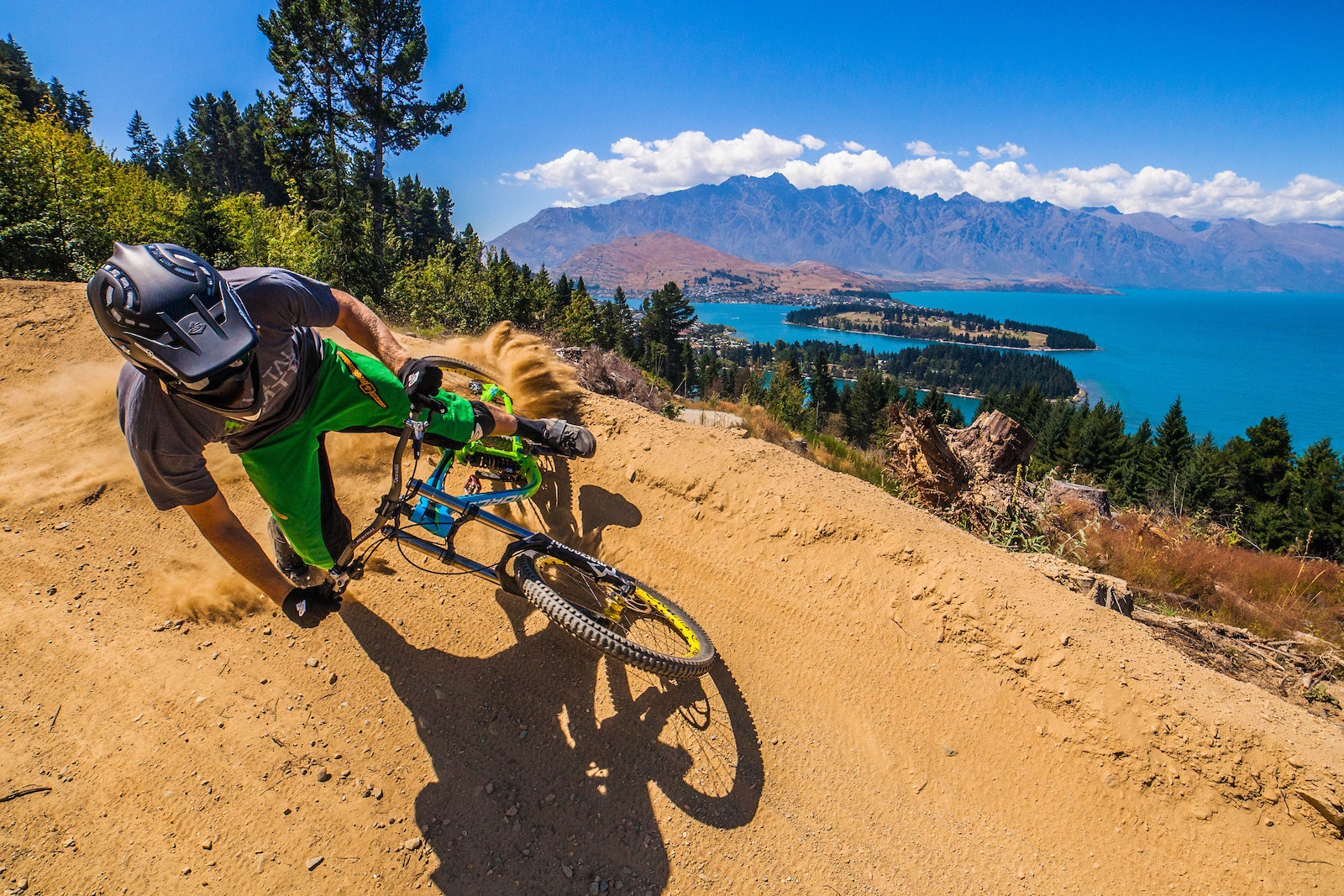 car hire Queenstown mountain biking