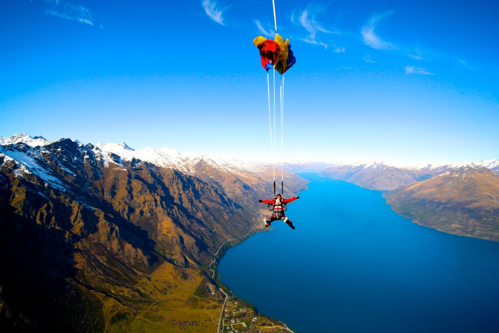 Sky Diving Queenstown