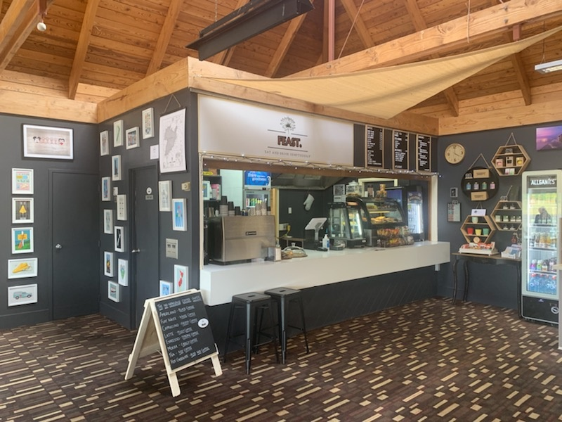 Cafe at Taupo Airport near RaD Car Hire
