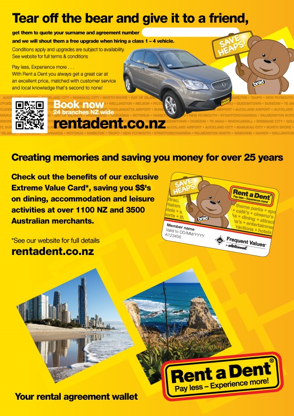 Rent A Dent Rad Car Hire Palmerston North Palmerston North