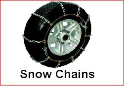 Rent a Dent Snow Chains