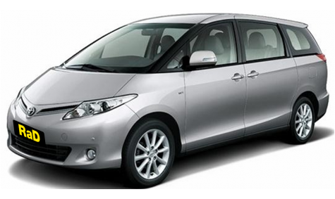 Premium 8 Seater People Mover - Toyota Estima