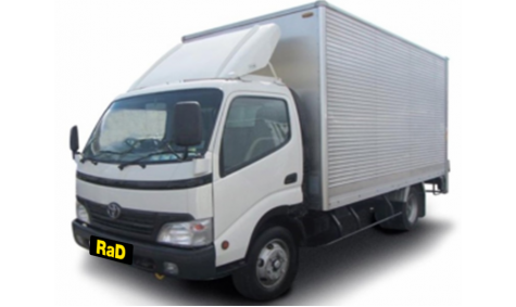 18 Cubic Metre Furniture Truck