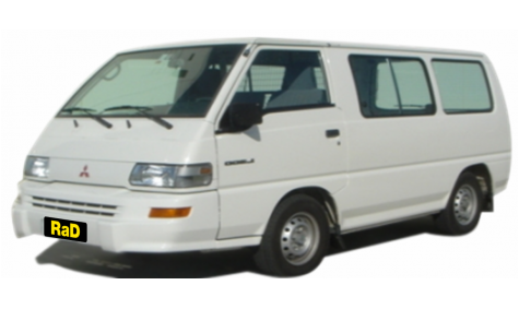 Standard Cargo Van (no rear seats)
