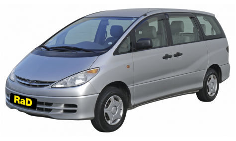 Class 5 - 8 Seater People Mover - No surcharge on Visa or Mastercard