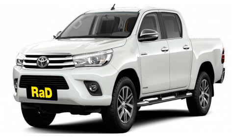 Double Cab Utility Toyota Hilux 4WD
