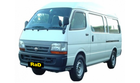 Class 7 - Commercial Cargo Van - No surcharge on Visa or Mastercard