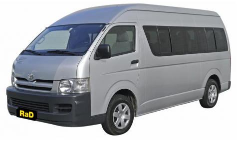 Class 6 - 10 Seater Mini Coach - No surcharge on Visa or Mastercard