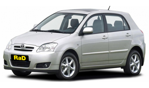 Compact - 4 Door 1500/1800cc Sedan or Hatch