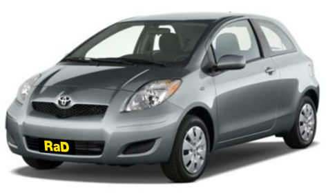 Economy - 3 Door 1300cc Hatchback