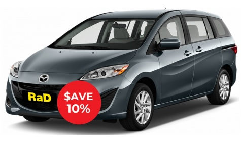 Intermediate Station Wagon - No booking or credit card fees, free additional drivers