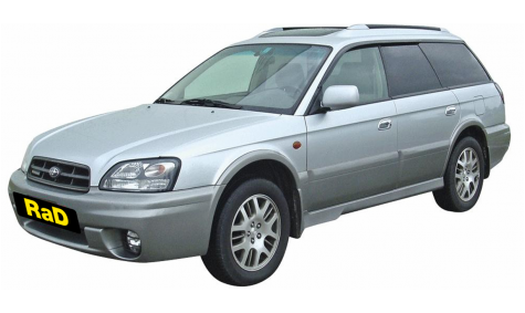 Full Size Wagon - AWD 2500cc - 5 Door Wagon