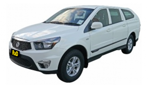 Ssangyong Actyon 4WD Workmate Canopy Utility
