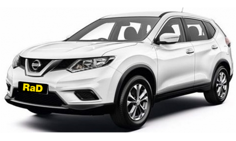Late Model Nissan X-Trail SUV 4WD