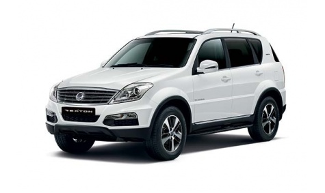 4WD Ssangyong Rexton 2016 model.