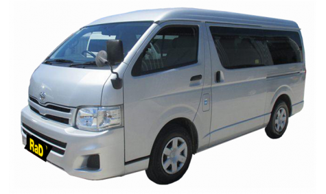 10 Seater Mini Coach - Toyota Hiace