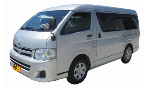 Late model Toyota Hiace Cargo van