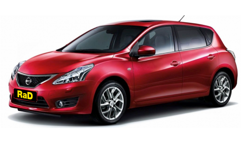 1-3 year old Nissan Pulsar 5 door Hatchback