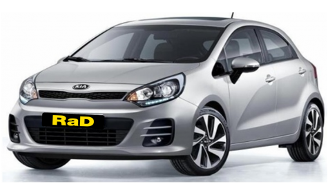 Late Model Kia Rio Hatchback