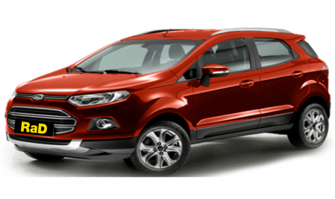 Late model Ford EcoSport Titanium Hatchback