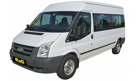 12 Seater Mini Coach - Ford Transit Manual