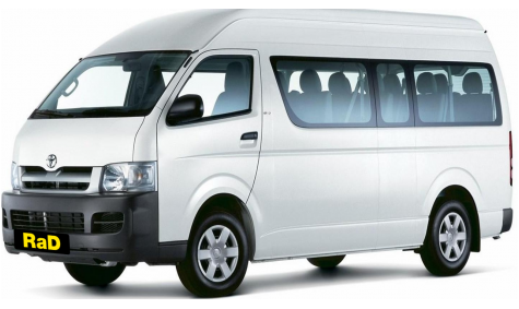 12 Seater Mini Coach - Toyota Hiace Automatic