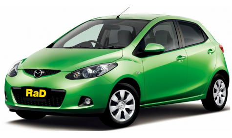 Class 1 - Hatchback - No surcharge on Visa or Mastercard